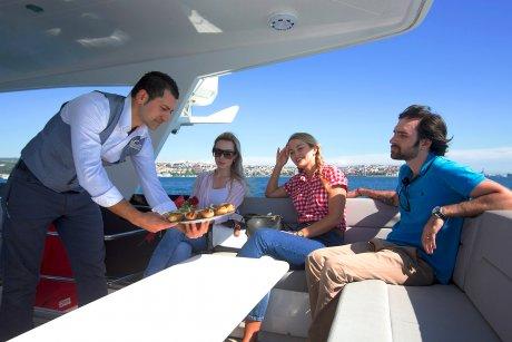 bosporus sunset cruise on luxury yacht 2021 food & snacks - 15
