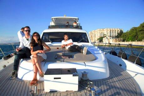 bosporus sunset cruise on luxury yacht 2021 sun top - 1