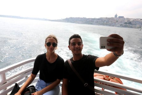Bus-and-Boat-Istanbul-on-the-Bosphorus - 16