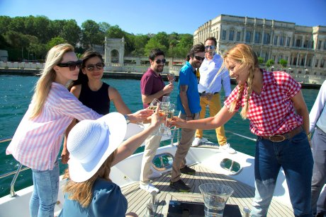 Enjoy an intimate trip with limited group sizes , drink champagne - 12