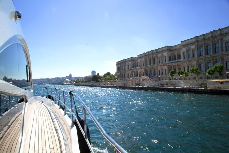 From your seat on a luxurious yacht, you will see Ciragan Palac - 6