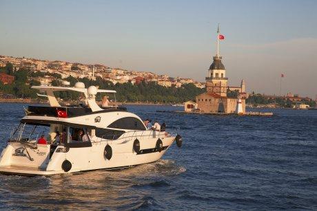 Luxury Yacht Tour on the Bosporus, the Maiden Tower - 36
