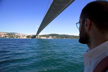 pass beneath the iconic Bosphorus Bridge - 30