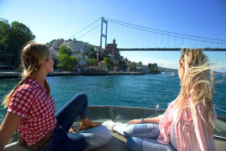 pass beneath the iconic Bosphorus Bridge along the banks of both Europe and Asia - 29