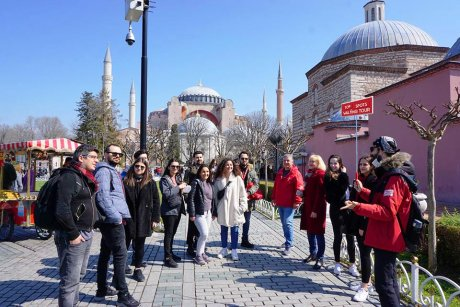 top-spots-walking-tour-istanbul-hagia-sophia - 7