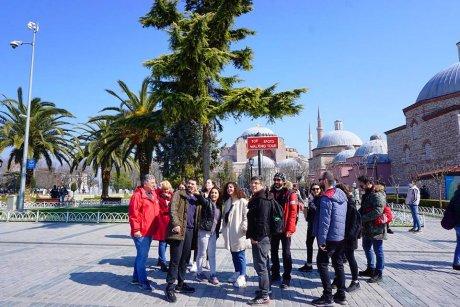 top-spots-walking-tour-istanbul-hagia-sophia - 9