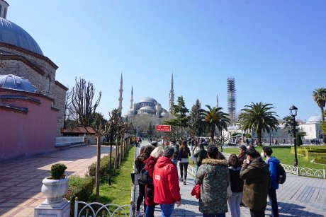 top-spots-walking-tour-istanbul-hagia-sophia - 8