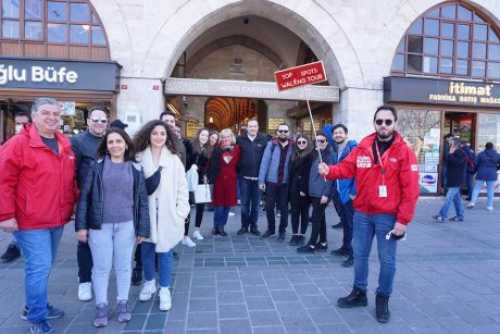top-spots-walking-tour-istanbul-hagia-sophia - 27