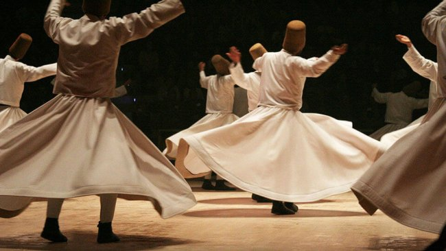 Whirling Dervish Istanbul Show - 1