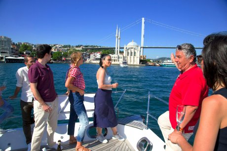 Your friendly and experienced guide will share with you stories about the Ortaköy Mosque - 21